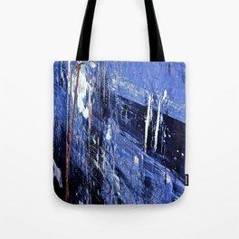 Blue Ship Tote Bag