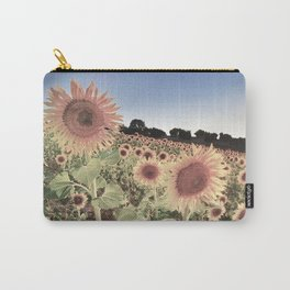 """Sunflowers"" Vintage summer.... Carry-All Pouch"