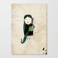 Aquario Girl Canvas Print