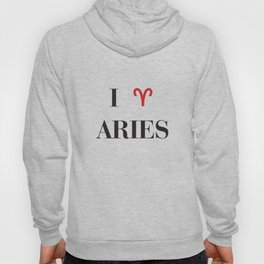 I heart Aries Hoody