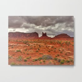 Monument-valley Metal Print