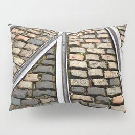 Rails and Cobbles Pillow Sham