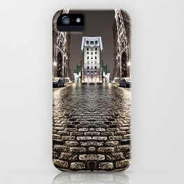 The Vintage Street - A Old Montreal Street iPhone Case