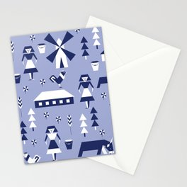 Farm. Seamless pattern. Stationery Cards