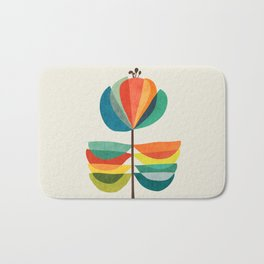 Whimsical Bloom Bath Mat