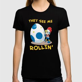 Billy Hatcher - They See Me Rollin' T-shirt