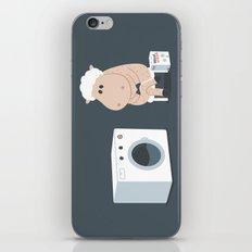 Wool wash iPhone & iPod Skin