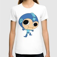 megaman T-shirts featuring Silly Megaman by oshio