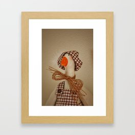 Mr. Goose Framed Art Print