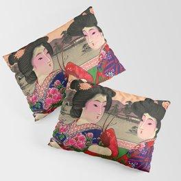 Two Geishas Pillow Sham