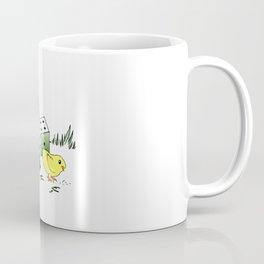 Yellow Cute Coffee Mug