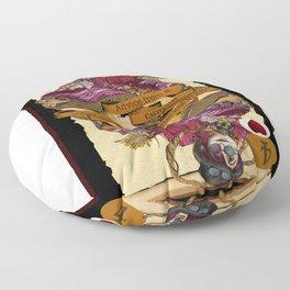 'Caterpillar' (Alice in Steampunk Series) Floor Pillow