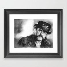 Lemmy Kilmister Framed Art Print