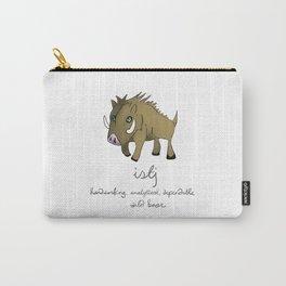 ISTJ MBTI Spirit Animal Wild Boar Carry-All Pouch