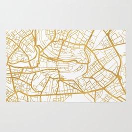 BERN SWITZERLAND CITY STREET MAP ART Rug