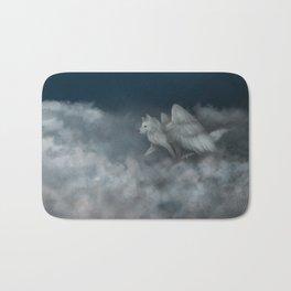 Angel Wolf Bath Mat