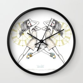 CL Shoes 10 Wall Clock