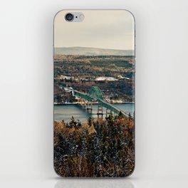 Seal Island Bridge iPhone Skin