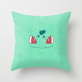 Bulba Saur! Poke man Throw Pillow