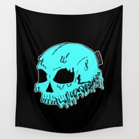sarcasm Wall Tapestries featuring Dripping With Sarcasm by zombieCraig by zombieCraig