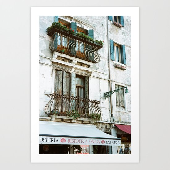 VENICE V - APARTMENT Art Print