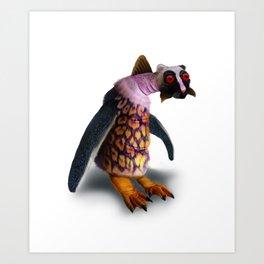 Exotic Creature Design Art Print