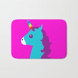 Portrait  of a Unicorn Bath Mat