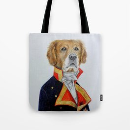 dog king Tote Bag