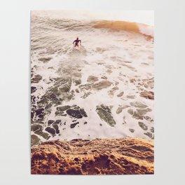 SunsetSurfing Poster