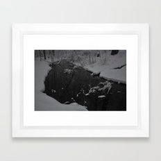 Snowy March Framed Art Print