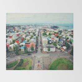 Reykjavik, Iceland Throw Blanket