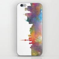 toronto iPhone & iPod Skins featuring Toronto  by Daniel McLaren