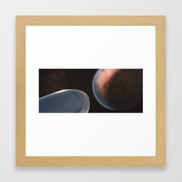 Interplanetary Transport System 4 Framed Art Print