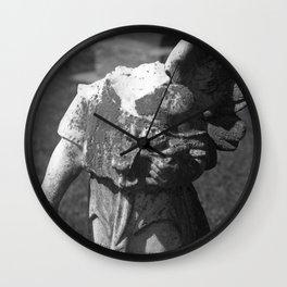 Gothic Angel Wall Clock