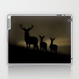 Red Deer at dawn Laptop & iPad Skin