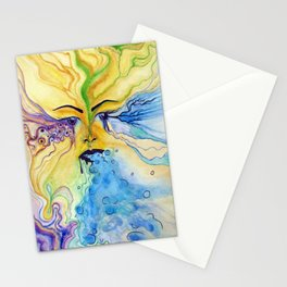 sensory vomit Stationery Cards