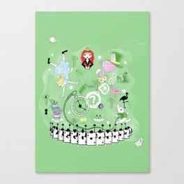 Alice in wonderland  Canvas Print