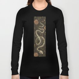 Snake Skeleton Long Sleeve T-shirt