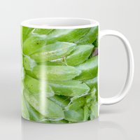 succulent Mugs featuring Succulent by constarlation