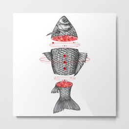 Sashimi III Metal Print