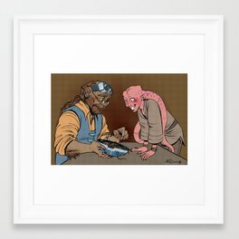 How to Repair Astromechs Framed Art Print