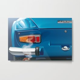 Renault Alpine A110 from 1962 Metal Print