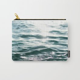 Crystal Sea // Horizontal Carry-All Pouch