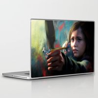 ellie goulding Laptop & iPad Skins featuring The Last Of Us: Ellie by Kate Dunn