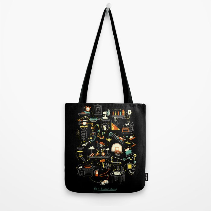 Breakfast Machine Tote Bag