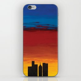 City Morning iPhone Skin