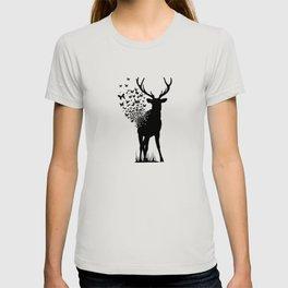Deer Butterfly T-shirt