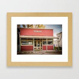 Little Library, Almont, North Dakota Framed Art Print