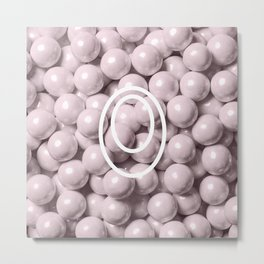 Pearl Candy Gem Metal Print