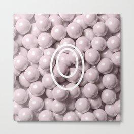 Pearl Candy Gem Metal Print